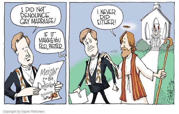 Cartoonist Signe Wilkinson  Signe Wilkinson's Editorial Cartoons 2013-11-21 denounce
