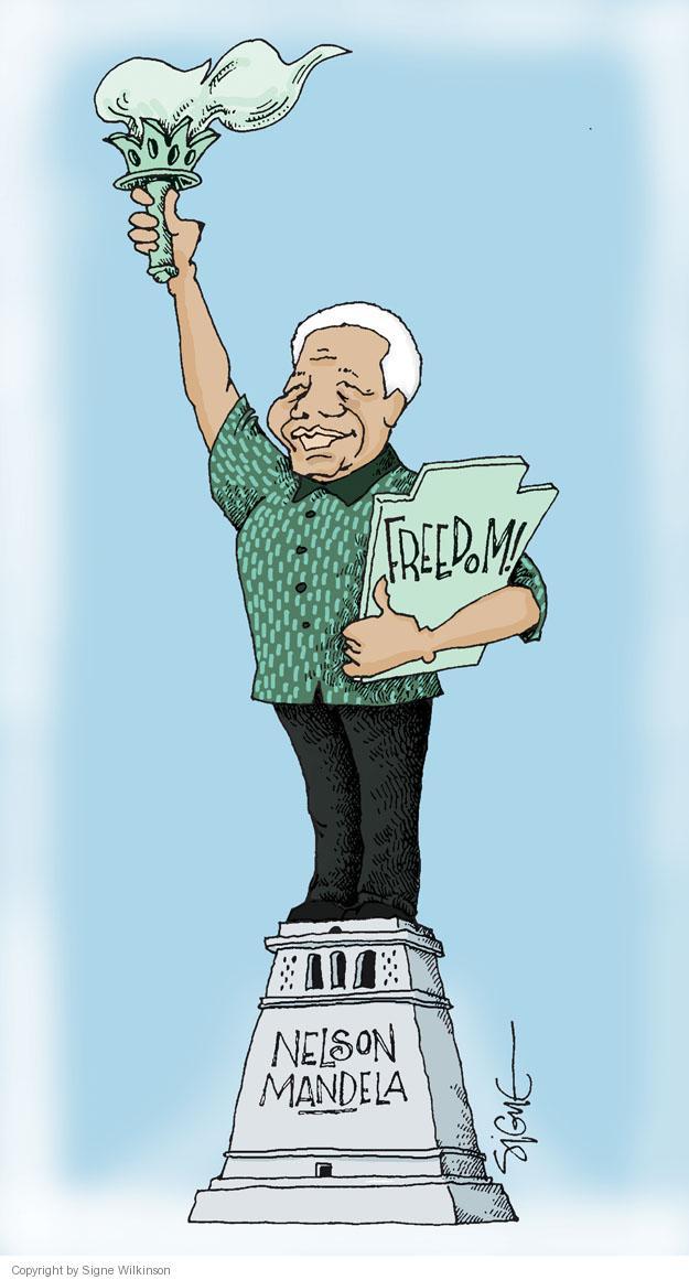 Signe Wilkinson  Signe Wilkinson's Editorial Cartoons 2013-12-06 torch