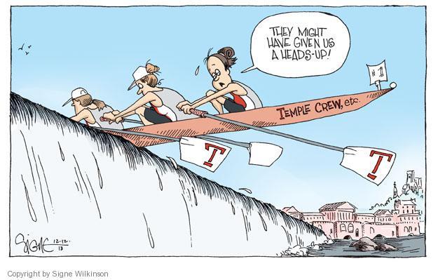 Cartoonist Signe Wilkinson  Signe Wilkinson's Editorial Cartoons 2013-12-12 higher