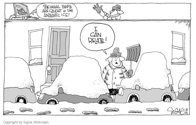 Signe Wilkinson  Signe Wilkinson's Editorial Cartoons 2014-01-04 environment
