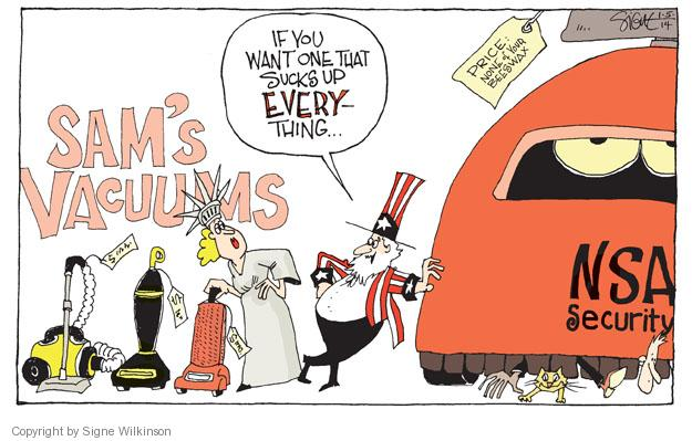 Cartoonist Signe Wilkinson  Signe Wilkinson's Editorial Cartoons 2014-01-05 data