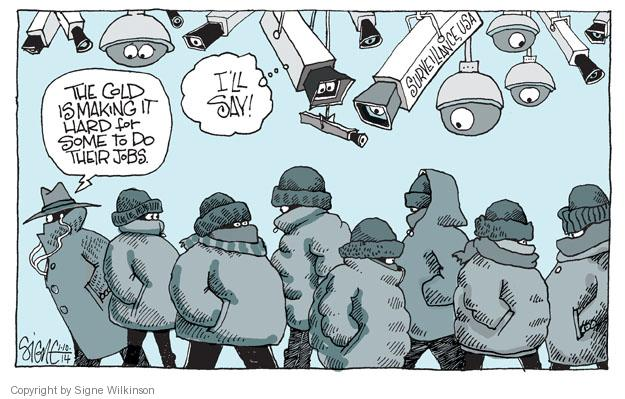 Signe Wilkinson  Signe Wilkinson's Editorial Cartoons 2014-01-10 ice