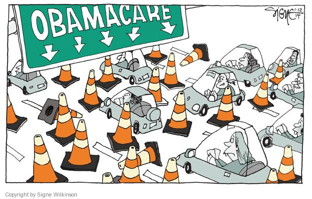 Signe Wilkinson  Signe Wilkinson's Editorial Cartoons 2014-01-12 infrastructure