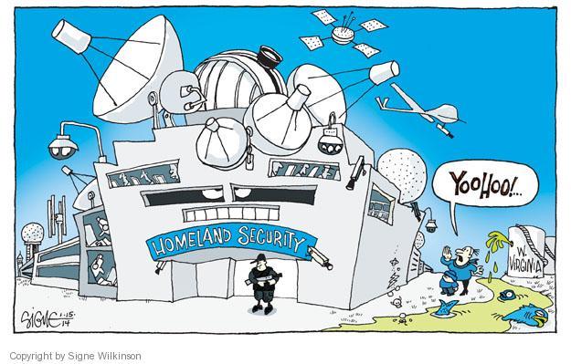 Signe Wilkinson  Signe Wilkinson's Editorial Cartoons 2014-01-15 mining