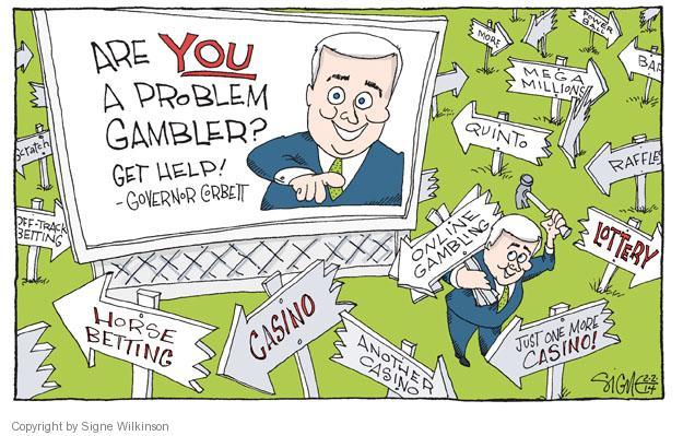 Gambling addiction cartoons jol makes casino gaming chips