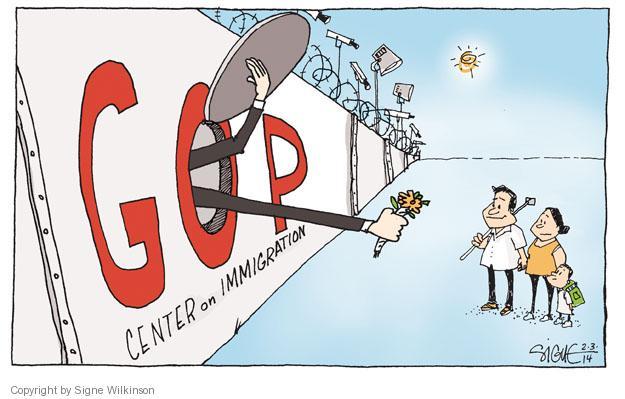 Signe Wilkinson  Signe Wilkinson's Editorial Cartoons 2014-02-03 minority
