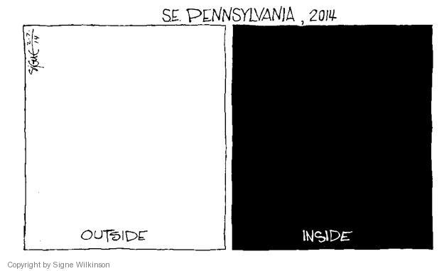 Signe Wilkinson  Signe Wilkinson's Editorial Cartoons 2014-02-07 environment