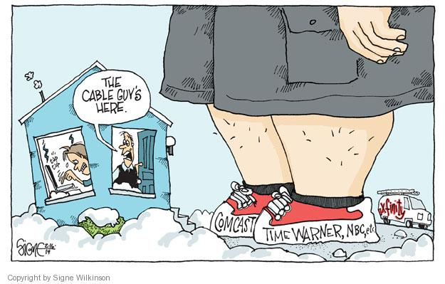 Signe Wilkinson  Signe Wilkinson's Editorial Cartoons 2014-02-16 business