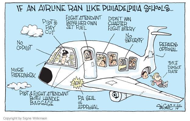 Signe Wilkinson  Signe Wilkinson's Editorial Cartoons 2014-04-20 political system