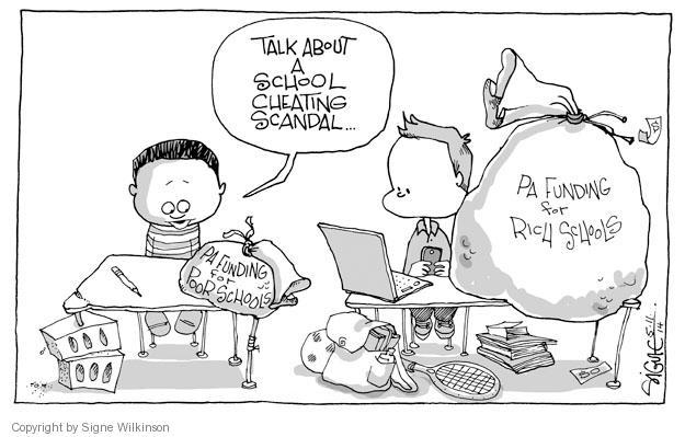 Cartoonist Signe Wilkinson  Signe Wilkinson's Editorial Cartoons 2014-05-11 political scandal