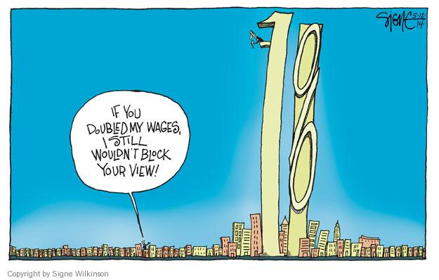 Signe Wilkinson  Signe Wilkinson's Editorial Cartoons 2014-05-12 minimum