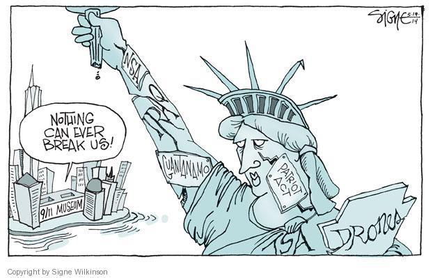 Cartoonist Signe Wilkinson  Signe Wilkinson's Editorial Cartoons 2014-05-19 Iraq war