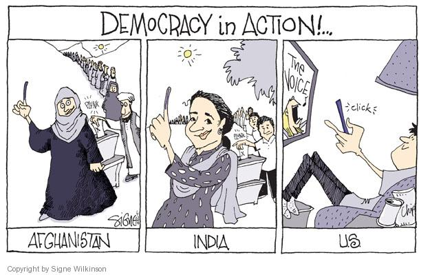 Signe Wilkinson  Signe Wilkinson's Editorial Cartoons 2014-05-22 action