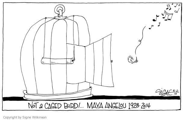 Signe Wilkinson  Signe Wilkinson's Editorial Cartoons 2014-06-02 obituary