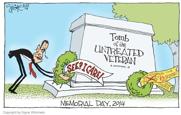 Cartoonist Signe Wilkinson  Signe Wilkinson's Editorial Cartoons 2014-05-25 day care