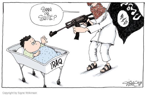 Signe Wilkinson  Signe Wilkinson's Editorial Cartoons 2014-06-18 Shiite