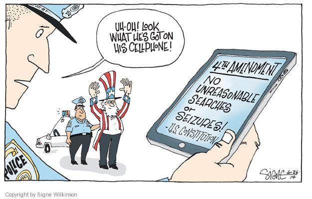 Signe Wilkinson  Signe Wilkinson's Editorial Cartoons 2014-06-26 Constitution