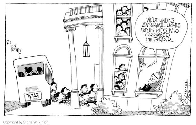 Signe Wilkinson  Signe Wilkinson's Editorial Cartoons 2014-07-08 White House security