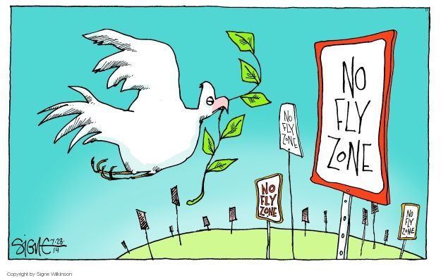 Signe Wilkinson  Signe Wilkinson's Editorial Cartoons 2014-07-28 Israel