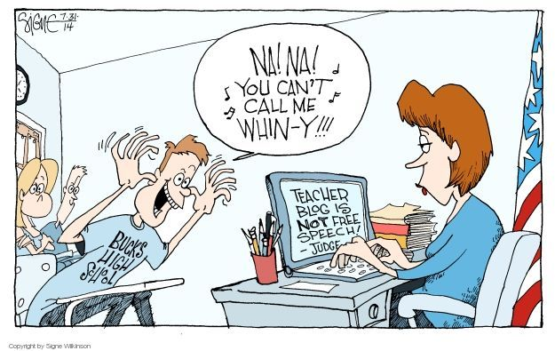 Cartoonist Signe Wilkinson  Signe Wilkinson's Editorial Cartoons 2014-07-31 political behavior