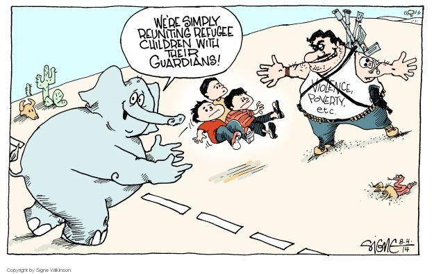 Signe Wilkinson  Signe Wilkinson's Editorial Cartoons 2014-08-04 GOP