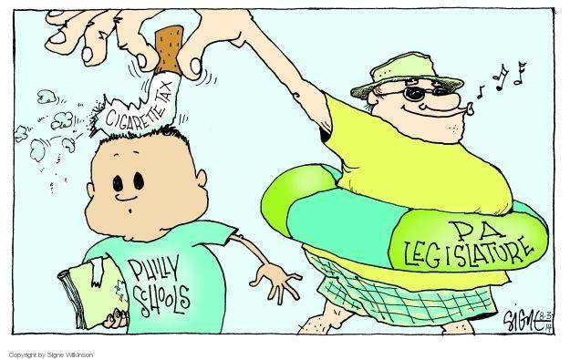 Cartoonist Signe Wilkinson  Signe Wilkinson's Editorial Cartoons 2014-08-03 cancel