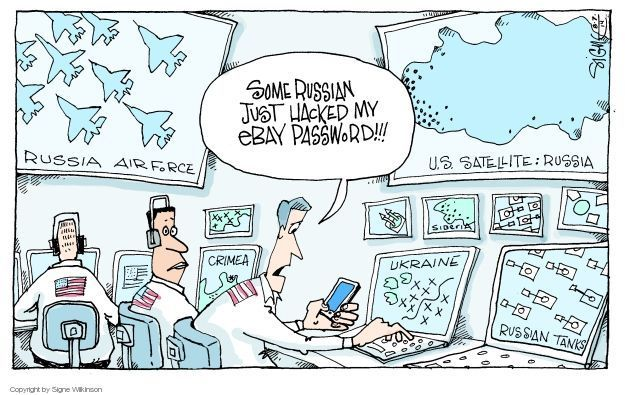 Signe Wilkinson  Signe Wilkinson's Editorial Cartoons 2014-08-07 computer technology
