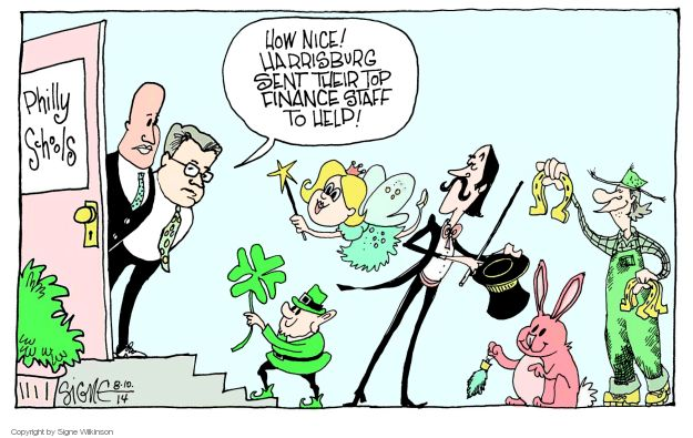 Cartoonist Signe Wilkinson  Signe Wilkinson's Editorial Cartoons 2014-08-10 editorial staff