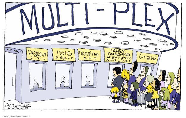 Signe Wilkinson  Signe Wilkinson's Editorial Cartoons 2014-08-24 baseball