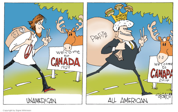Signe Wilkinson  Signe Wilkinson's Editorial Cartoons 2014-08-29 business