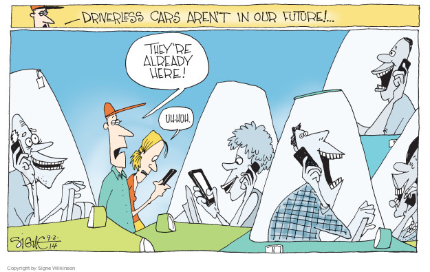 Signe Wilkinson  Signe Wilkinson's Editorial Cartoons 2014-09-02 distraction