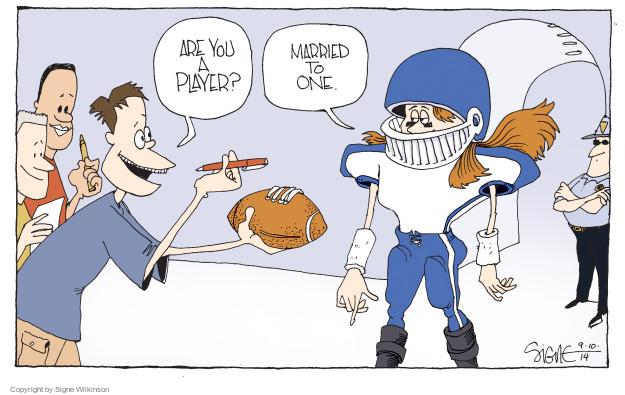 Cartoonist Signe Wilkinson  Signe Wilkinson's Editorial Cartoons 2014-09-10 player