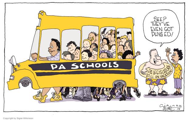 Signe Wilkinson  Signe Wilkinson's Editorial Cartoons 2014-09-11 vacation
