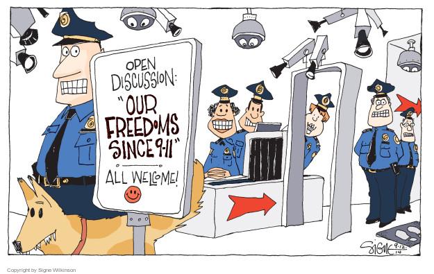 Cartoonist Signe Wilkinson  Signe Wilkinson's Editorial Cartoons 2014-09-12 search privacy