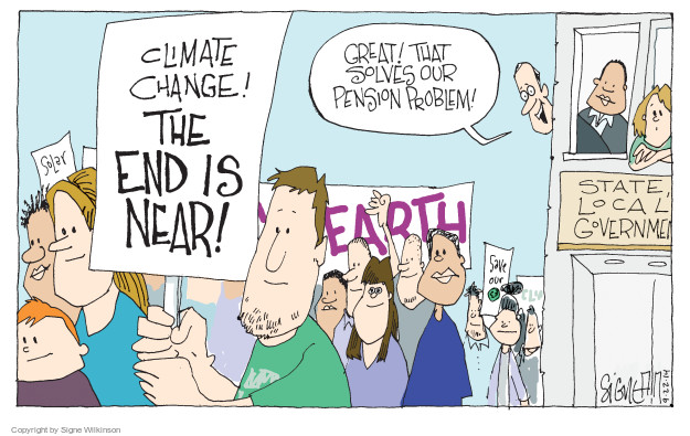Cartoonist Signe Wilkinson  Signe Wilkinson's Editorial Cartoons 2014-09-22 benefit