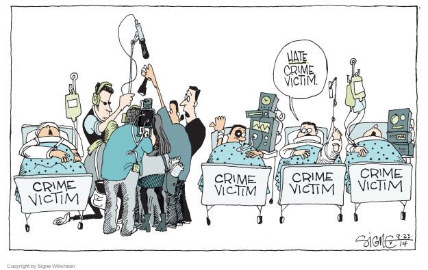 Cartoonist Signe Wilkinson  Signe Wilkinson's Editorial Cartoons 2014-09-23 news media