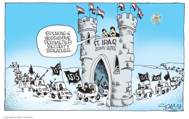Signe Wilkinson  Signe Wilkinson's Editorial Cartoons 2014-10-01 army