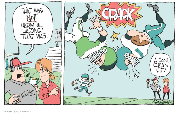 Cartoonist Signe Wilkinson  Signe Wilkinson's Editorial Cartoons 2014-10-26 player