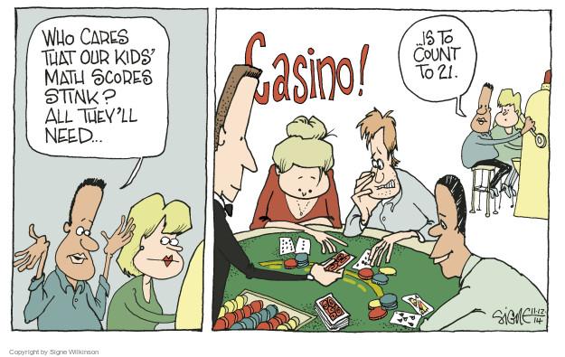 casino comic