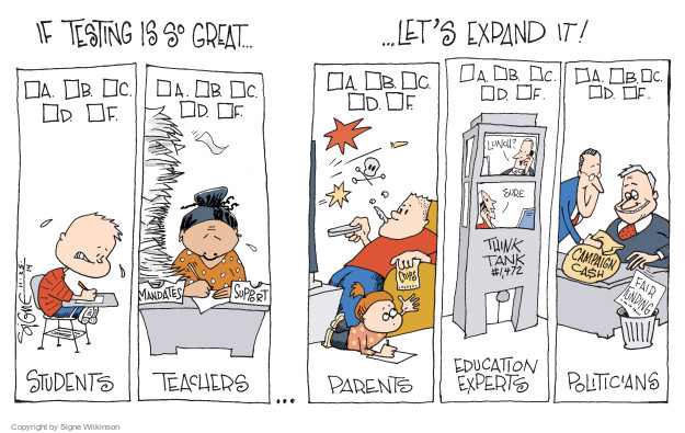 Cartoonist Signe Wilkinson  Signe Wilkinson's Editorial Cartoons 2014-11-25 support
