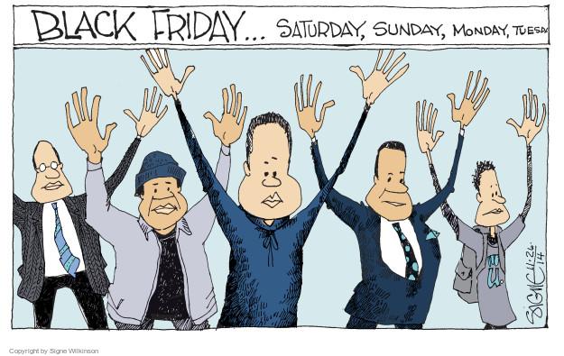 Signe Wilkinson  Signe Wilkinson's Editorial Cartoons 2014-11-26 Friday