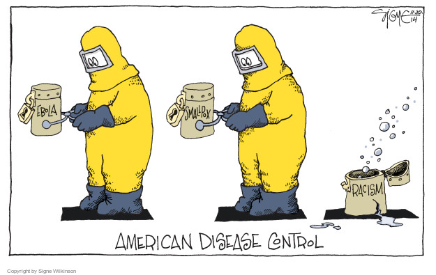 Signe Wilkinson  Signe Wilkinson's Editorial Cartoons 2014-11-30 infectious
