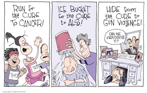 Signe Wilkinson  Signe Wilkinson's Editorial Cartoons 2014-12-17 cancer