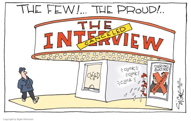 Signe Wilkinson  Signe Wilkinson's Editorial Cartoons 2014-12-19 release