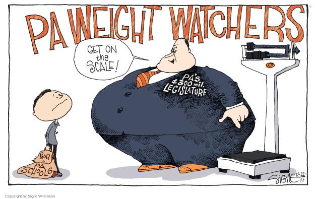 Signe Wilkinson  Signe Wilkinson's Editorial Cartoons 2014-12-22 $300