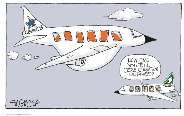 Cartoonist Signe Wilkinson  Signe Wilkinson's Editorial Cartoons 2015-01-07 team