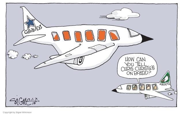 Cartoonist Signe Wilkinson  Signe Wilkinson's Editorial Cartoons 2015-01-07 team sport