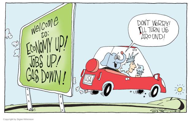 Signe Wilkinson  Signe Wilkinson's Editorial Cartoons 2015-01-12 GOP