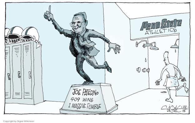 Cartoonist Signe Wilkinson  Signe Wilkinson's Editorial Cartoons 2015-01-22 sexual abuse