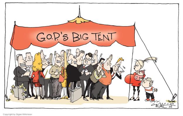 G.O.P.s Big Tent.